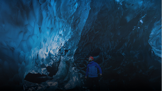 Ice Cave and Glacier Walk