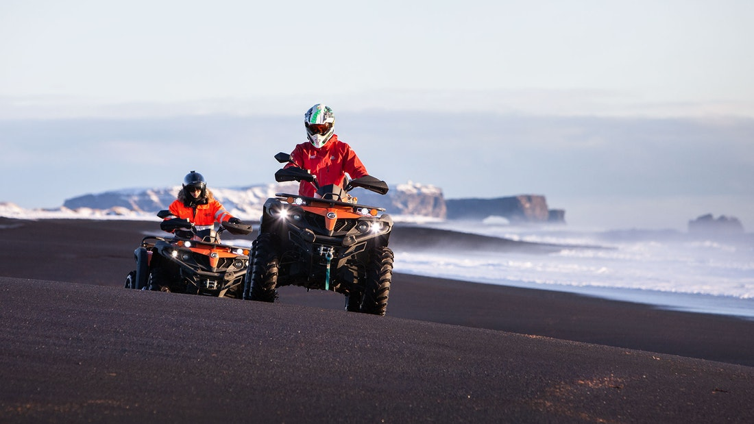 ATV - Black Sand Beach